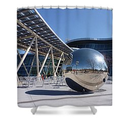 Shower Curtain featuring the photograph Salt Lake City Police Station - 1 by Ely Arsha