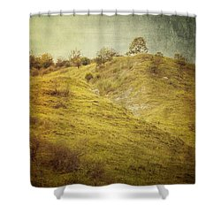 Salt Meadow Mounds Shower Curtain
