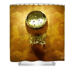 Salt Of The Earth Shower Curtain by Mary Machare
