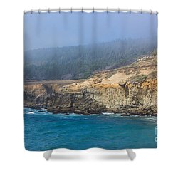 Salt Point State Park Coastline Shower Curtain by Suzanne Luft