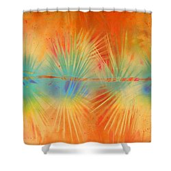 Salute To The Sun Shower Curtain