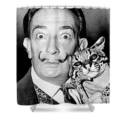 Salvador Dali Shower Curtain