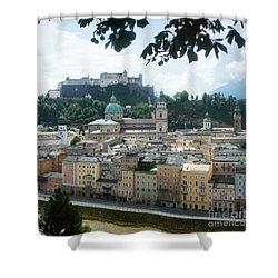 Salzburg Austria Old Town 3 Shower Curtain