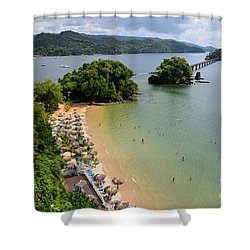 Samana In Dominican Republic Shower Curtain