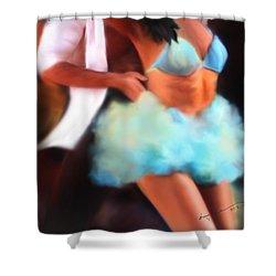 Samba Shower Curtain by Kume Bryant