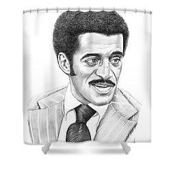 Sammy Davis Jr Shower Curtain by Murphy Elliott