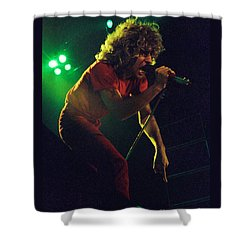 Sammy Hagar New Years Eve At The Cow Palace 12-31-78 Shower Curtain