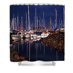 Samsoe Island Denmark Shower Curtain