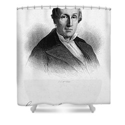 Samuel George Morton Shower Curtain by Granger