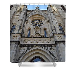 San Antonio Church 02 Shower Curtain