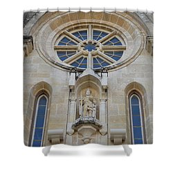 San Antonio Church 03 Shower Curtain by Shawn Marlow