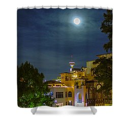 San Antonio Cityscape Shower Curtain