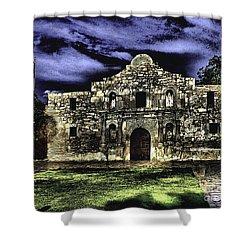 San Antonio E Shower Curtain
