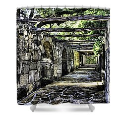 San Antonio F Shower Curtain