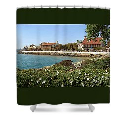 Shower Curtain featuring the photograph San Diego Cute Place by Jasna Gopic