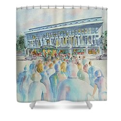 San Diego Ideal Org Shower Curtain