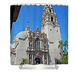 San Diego Museum Of Man Shower Curtain