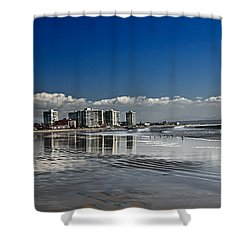 San Diego Shower Curtain by Robert Bales