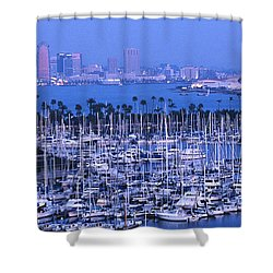 San Diego Twilight Shower Curtain