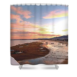 San Felipe Sunset 04 Shower Curtain