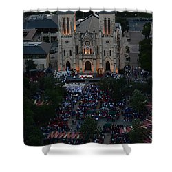 San Fernando Cathedral 001 Shower Curtain