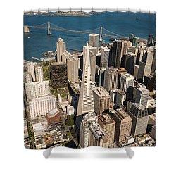 San Francisco Aloft Shower Curtain