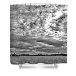 San Francisco Clouds Shower Curtain