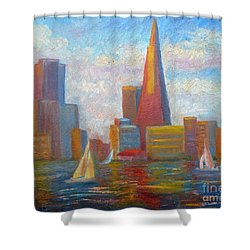 San Francisco Reflections Shower Curtain