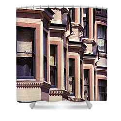 San Francisco Sunshine  Shower Curtain by Ira Shander