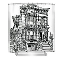 San Francisco Victorian   Shower Curtain by Ira Shander