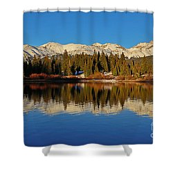 San Juan Reflections Shower Curtain