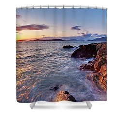 San Juans Serenity Shower Curtain