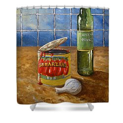 San Marzano Shower Curtain