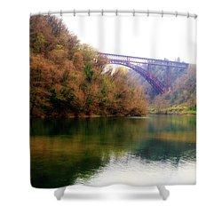 San Michele Bridge N.1 Shower Curtain