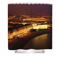 Shower Curtain featuring the photograph San Sebastian 25 by Mariusz Czajkowski