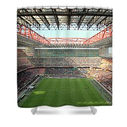 San Siro Stadium Shower Curtain
