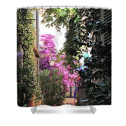 St Tropez Shower Curtain by HEVi FineArt