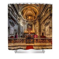 San Vincenzo Trevi Shower Curtain by Yhun Suarez