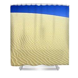 Sand Dune Shower Curtain by Ramona Johnston