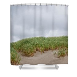 Sand Dunes And Grass Shower Curtain