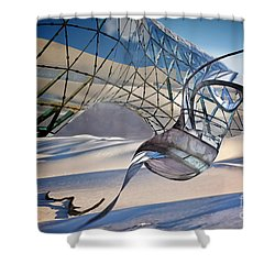 Sand Incarnations With Dali Shower Curtain
