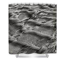 Sand Patterns 1 Shower Curtain