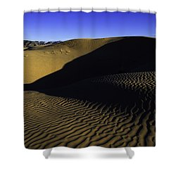 Sand Ripples Shower Curtain by Chad Dutson