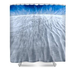 Sand Storm On The Horizon Shower Curtain