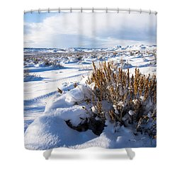 Sand Wash Basin In The Winter Shower Curtain