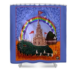 Shower Curtain featuring the photograph Sandcastle Shirt by Wendy McKennon