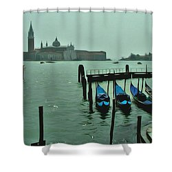 Shower Curtain featuring the photograph Sanding By by Brian Reaves