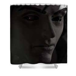 Sandman Portrait - Morpheus Shower Curtain by Jim Shackett