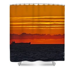 Sandown Sunrise Shower Curtain