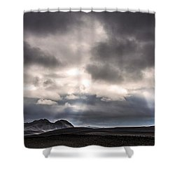 Sands Of Time Shower Curtain by Gunnar Orn Arnason
